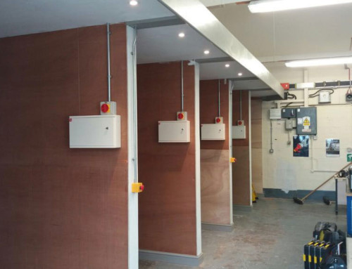 Refurbishment of Electrical Teaching Bays