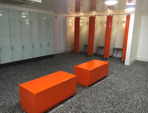 Changing Room Refurbishment at Gym/Health Club